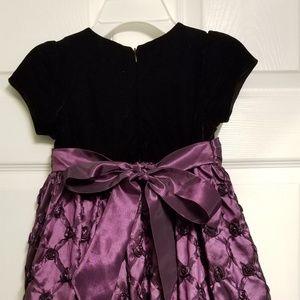 Other - Deep purple formal girls dress
